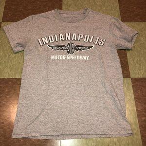 Indianapolis speedway T-shirt Graphic Logo sm